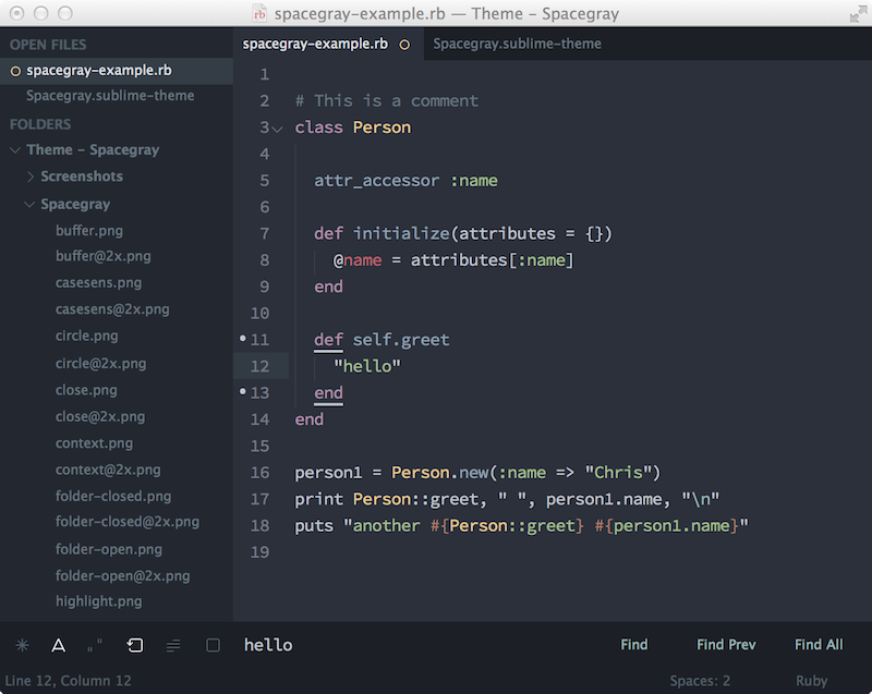 A Hyperminimal UI Theme for Sublime Text | News and